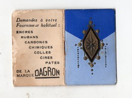 Livret-calendrier 1937 Offert Pr DAGRON ( Encres) (PPP20035) - Calendari