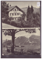 GRÖSSE 10x15cm - KRATTIGEN - HOTEL PENSION ALPINA - TB - BE Berne