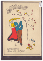 GRÖSSE 10x15cm - SIGNAU - SÄNGERTAG 15 MAI 1938 - RÜCKS.: ROTE SONDERSTEMPEL UND AUTOMOBIL POSTBUREAU - TB - BE Berne