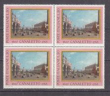 PGL DF090 - ITALIA REPUBBLICA 1968 SASSONE N°1095 ** QUARTINA - 1961-70:  Nuovi
