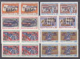 PGL DF092 - ITALIA REPUBBLICA 1968 SASSONE N°1097/102 ** QUARTINA - 1961-70:  Nuovi