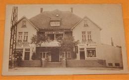 SOURBRODT  (gare) -  Café International - Boucherie - Charcuterie -  Propriétaire H. Jenchenne - Waimes - Weismes