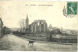 (CAHORS )( 46 LOT ) LES RUINES DES JACOBINS - Cahors