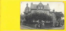 HOULGATE Carte Photo De Villa 1922 Renault () Calvados (14) - Houlgate