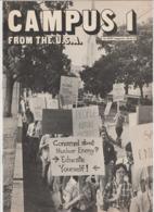 Revue CAMPUS 1 En Anglais 16 Pages En 1980 An MGP Magazine Series 6 - Culture