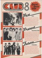 Revue CLUB 8 En Anglais THE PRETENDERS 8 Pages En 1980 An MGP Magazine Series 19 - Culture