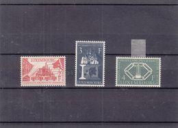 Luxembourg - Yvert 511 / 3 * - Idées Européennes - Valeur 37,50 Euros - Nuevos