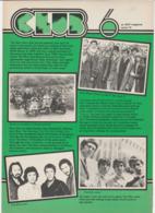 Revue CLUB 6 En Anglais THE WHO 8 Pages En 1979 An MGP Magazine Series 19 - Culture