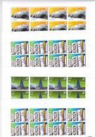 QATAR 2006, SPORT VENUES, Complete Sheet Of 8 Sets MNH UNFOLDED- LIQUIDATION OFFER - Scarce - Qatar