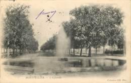 34 - MONTPELLIER -  L'ESPLANADE - Montpellier