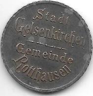 *notgeld  Gelsenkirchen  50 Pfennig 1919 Fe   4749.1 /  F 154.1 - [ 2] 1871-1918 : Empire Allemand