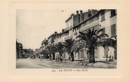 83 LA SEYNE RUE HOCHE CARTE GAUFREE - La Seyne-sur-Mer