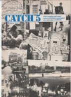 Revue CATCH 5 En Anglais TRES BON ETAT 8 Pages En 1978 MGP An Magazine Series 19 - Culture