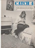 Revue CATCH 4 En Anglais Mrs THATCHER 8 Pages En 1978 An MGP Magazine Series 19 - Culture