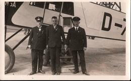 ! Alte Fotokarte, Photo Lufthansa Flugzeug, Flughafen Köln 11.6.1934 - 1919-1938
