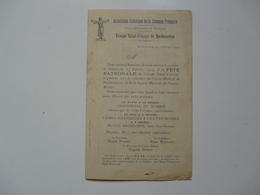 VIEUX PAPIERS - PROGRAMME : Association Catholique De La Jeunesse Française - ROCHECORBON - Programs