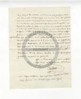 /!\ 1311 - Parchemin - 1820 - Paris -  Rapport De La Légion Sur L'assassinat Du Duc De Berry - Manoscritti