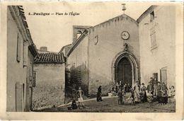 CPA Pauligne-Place De L'Église (260785) - Other Municipalities