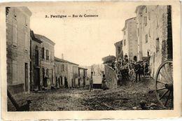 CPA Pauligne-Rue Du Commerce (260786) - Other Municipalities
