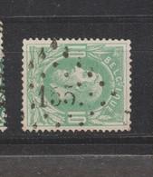 COB 30 Oblitération à Points 155 GRAMMONT +2 - 1869-1883 Leopold II