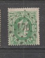 COB 30 Oblitération à Points 170 HASSELT +3 - 1869-1883 Leopold II