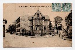- CPA PIERREFITTE (93) - Rue Guéroux Et Avenue De La Mairie 1907 (avec Personnages) - Collection Besson N° 3 - - Pierrefitte Sur Seine
