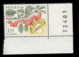 Monaco 1985 - Neuf - Scanné Recto Verso - Y&T N° 87 Préoblitéré - Les Quatre Saisons Du Cerisier - été 1,57 - Préoblitérés