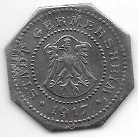*notgeld Germersheim  50 Pfennig  1917  Fe   4809.7 /  F 157.6a - [ 2] 1871-1918: Deutsches Kaiserreich
