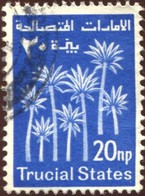 Pays :  42,00 (Etats De La Trève) Michel TS 3 (o) Yvert Et Tellier 3 (o) - Ver. Arab. Emirate
