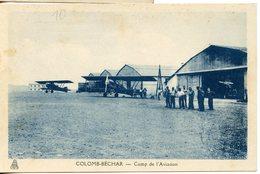 1441. CPA 1941 ALGERIE COLOMB-BECHAR CAMP DE L'AVIATION - Bechar (Colomb Béchar)