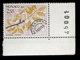 Monaco 1985 - Neuf - Scanné Recto Verso - Y&T N° 88 Préoblitéré - Les Quatre Saisons Du Cerisier - Automne 2,55 - Préoblitérés