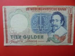PAYS-BAS 10 GULDEN 1953 CIRCULER (B.6) - [2] 1815-… : Koninkrijk Der Verenigde Nederlanden