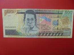 PHILIPPINES 500 PISO 2005 CIRCULER (B.6) - Philippines