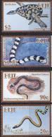 Fiji 2010 Snakes 4v MNH - Fiji (1970-...)