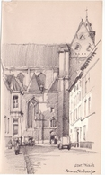 Illustratie Herman Verbaere - Gent - Sint Michiels - Non Classés