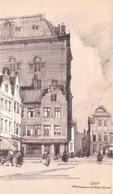 Illustratie Herman Verbaere - Gent - Vrijdagmarkt - Non Classés