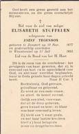 Zundert, Wuustwezel, 1955, Elisabeth Stoffelen, Tegenbos - Images Religieuses