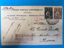 Portugal To Italy  CENSURA MILITARE . BOLOGNAISE POSTA ESTERA - War 1914-18