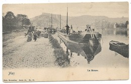 Huy - La Meuse - Péniche - Voir 2 Scans - Huy