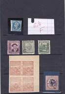 VRAIMENT A VOIR ET ETUDIER CE PETIT LOT (( Lot 422 )) - Lots & Kiloware (mixtures) - Max. 999 Stamps