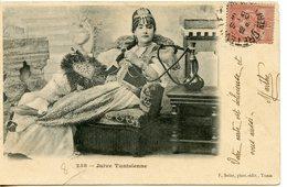 1448. CPA TUNISIE REGENCE DE TUNIS. CACHET CRETEVILLE. JUIVE TUNISIENNE 1905 - Tunisia