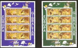 Gibraltar CEPT 1992 Yvertnr 647-650 *** MNH  Cote 28,00 Euro  Bateaux Boten Ships Colomb - Gibraltar