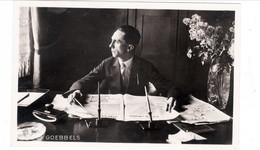 Propaganda Karte, Dr. GOEBBELS, Karte Sollte Nach Wien Gehen - Aber Illegal ! - Weltkrieg 1939-45