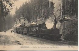 88 GERARDMER  Station Du Tramway Au Saut-des-Cuves - Gerardmer