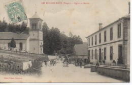 88 LES ROUGES-EAUX  Eglise Et Mairie - Autres Communes