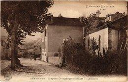 CPA DÉSAIGNES - Chapelle Evangélique Et Route De LAMASTRE (484836) - Altri Comuni