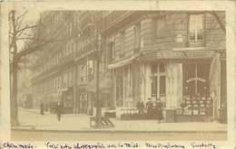 270819 - 75 PARIS VIIIe CARTE PHOTO Restaurant BASTARD - Cachet Postal Avenue Friedland - Cafés, Hôtels, Restaurants