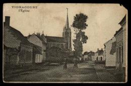 80 - Vignacourt - Picquigny L'église #10629 - Vignacourt