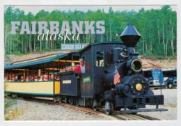 ALASKA           TRAIN- ZUG- TREIN- TRENI- GARE- BAHNHOF- STATION- STAZIONI  2 SCAN  (NUOVA) - Treni
