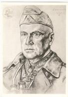 Propaganda Karte, W. WILLRICH : Generalleutnant CRÜWELL, E 19 - Weltkrieg 1939-45